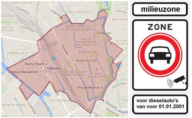 Milieuzone Utrecht 2017